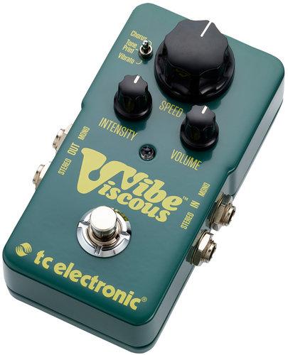 TC Electronic Viscous Vibe Vibrato Effects Pedal VISCOUS-VIBE