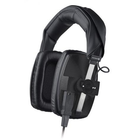 Beyerdynamic DT100-400/BLACK 400 Ohm Over-Ear Closed-Back Dynamic Headphones in Black DT100-400/BLACK