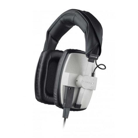 Beyerdynamic DT 100-400 400 Ohm Over-Ear Closed-Back Dynamic Headphones in Grey DT100-400/GREY