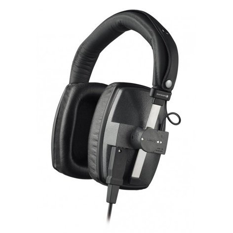 Beyerdynamic DT 150 250 Ohm Over-Ear Closed-Back Dynamic Studio Headphones with Detachable Cable DT150-250