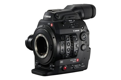 Canon EOS C300 Mark II Cinema EOS 4K Camera System with EF Mount EOS-C300-MKII