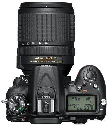 Nikon 1555 24.2MP D7200 Kit with 18-140mm Lens 1555-NIKON