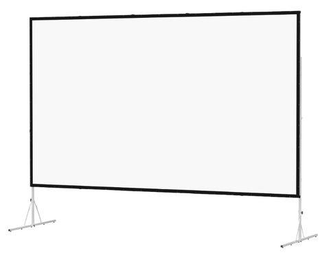 """Da-Lite 35339 Fast-Fold Deluxe 69"""" x 120"""" Viewing Area Ultra Wide Angle Screen 35339"""