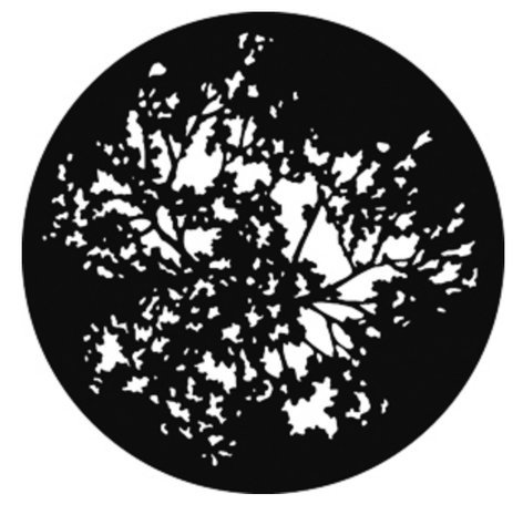GAM G551 Steel Gobo - Summer Branches G551