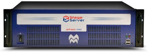 ArKaos AKSTAGESERVERPROV2 Stage Server Stage Server V2 with 2 Outputs and Media Master Pro AKSTAGESERVERPROV2