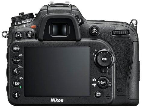 Nikon 1554 24.2 MP D7200 Body Only in Black 1554