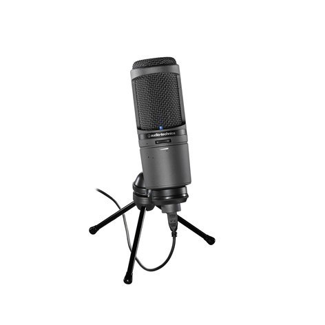 Audio-Technica AT2020USBi Cardioid Condenser USB Microphone with iOS Connectivity AT2020USBI