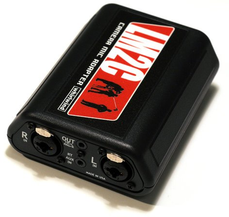 Whirlwind LM2C  Camera/Computer Unbalanced Stereo Mic Adapter LM2C