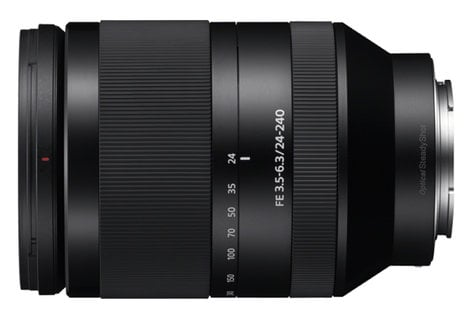 Sony SEL24240 FE 24-240mm F3.5-6.3 OSS Full-Frame E-Mount Telephoto Zoom Lens SEL24240