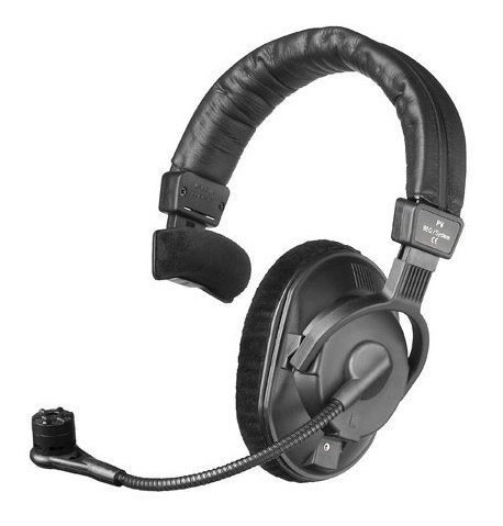 Beyerdynamic DT 287 PV MKII-250 250 Ohm Single-Ear Phantom Powered Broadcast Headset with Condenser Microphone DT287-PVMKII-250