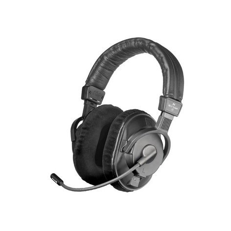 Beyerdynamic DT 291 PV MKII-80 80 Ohm Dual-Ear Phantom Powered Communication Headset with Condenser Microphone DT291-PVMKII-80