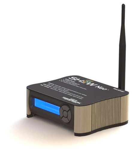 City Theatrical 5711M ShowDMX Neo Receiver with Maximum Bandwidth Technology 5711M