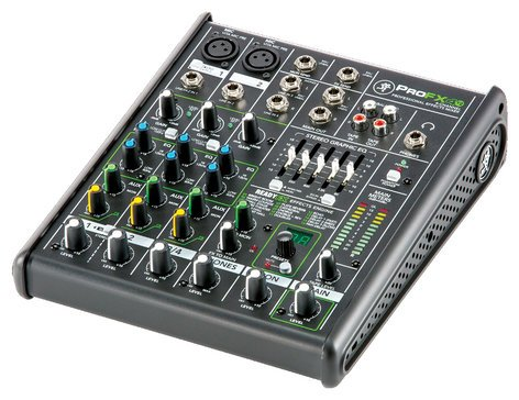 Mackie ProFX4v2 4-Channel Mixer with Onboard Effects Engine PROFX4V2