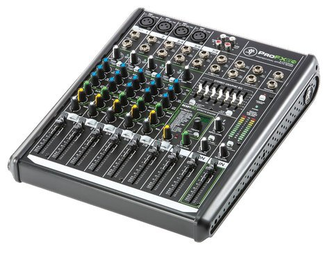 Mackie ProFX8v2 8-Channel Mixer with Onboard Effects Engine and USB I/O PROFX8V2