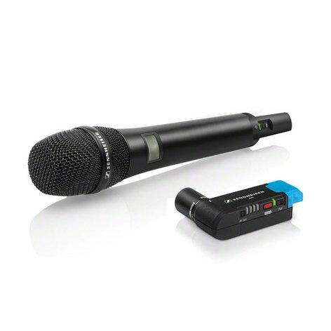 Sennheiser AVX-835 SET Wireless Handheld Microphone System for Filmmaking AVX-835-SET-4-US