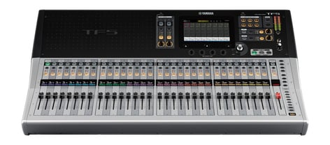 "Yamaha TF5 Digital Mixing Console with 33 Motorized Faders and 32 XLR-1/4"" Combo Inputs TF5"