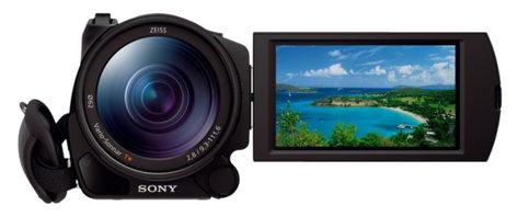 "Sony FDR-AX100/B 4K/30p Camcorder with 1"" Sensor FDRAX100/B"