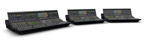 "Avid S6L-24D-CS VENUE | S6L Control Surface with 26 Faders and (3) 12.1"" Touchscreens S6L-24D-CS"