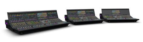 "Avid S6L-32D-CS VENUE | S6L Control Surface with 34 Faders and (4) 12.1"" Touchscreens S6L-32D-CS"