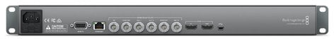 Blackmagic Design HyperDeck Studio 12G 1RU Multi Rate 12G-SDI and HDMI 2.0 Disk Recorder with LCD Screen HYPERDECK-STUDIO-12G