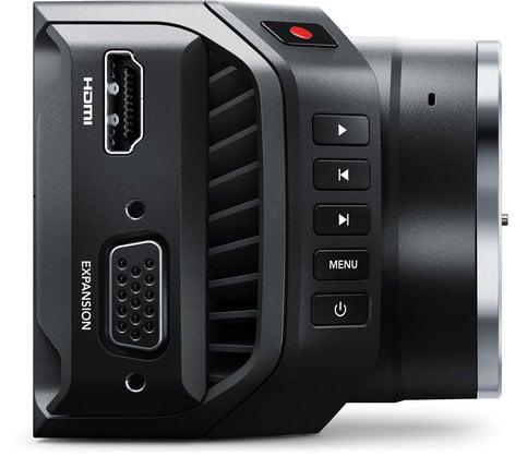Blackmagic Design Micro Cinema Camera Miniaturized Digital Film Camera - Body Only CINECAMMICHDMFT