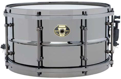 """Ludwig Drums LW0713 7""""x13"""" Black Magic Brass Snare Drum LW0713"""