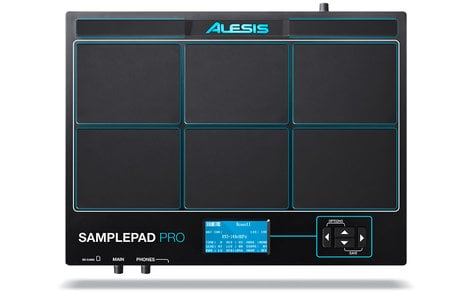 Alesis SamplePad Pro 8-Pad Percussion and Sample Triggering Drum Module SAMPLE-PAD-PRO