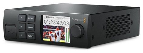 Blackmagic Design Teranex Mini Smart Panel Front Smart Panel with Built In LCD Screen CONVNTRM/YA/SMTPN
