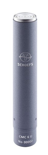 Schoeps CMC 6 Ug 12/48V Modular Amplifier with Matte Gray Finish for Colette Series Condenser Microphone Capsules CMC-6UG