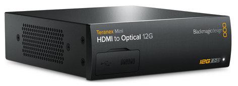Blackmagic Design Teranex Mini - HDMI to Optical 12G HDMI to Optical 12G Mini Converter CONVNTRM/MB/HOPT