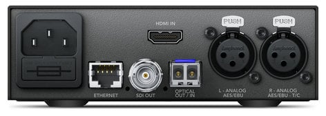 Blackmagic Design Teranex Mini - HDMI to Optical 12G HDMI to Optical 12G Mini Converter CONVNTRM/MB/HOPT