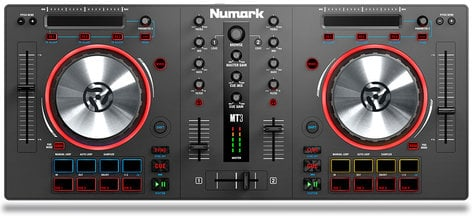 Numark Mixtrack 3 2 Channel DJ Controller MIXTRACK-3
