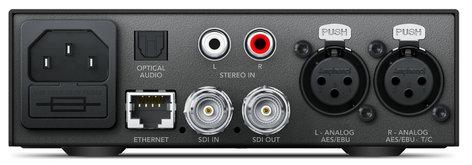 Blackmagic Design Teranex Mini - Audio to SDI 12G Audio to SDI 12G Mini Converter CONVNTRM/CB/AUSDI