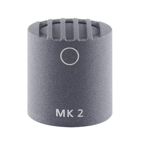 Schoeps MK 2 Omnidirectional Condenser Capsule with Matte Gray Finish for Colette Series Modular Microphone System MK-2G