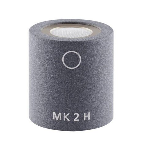Schoeps MK 2H Omnidirectional Condenser Capsule with HF Boost and Matte Gray Finish for Colette Series Modular Microphone System MK-2HG