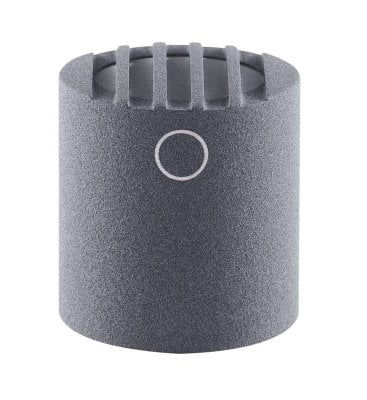 Schoeps MK 2XS Omnidirectional Diffuse-Field Condenser Capsule with Matte Gray Finish for Colette Series Modular Microphone System MK-2XSG