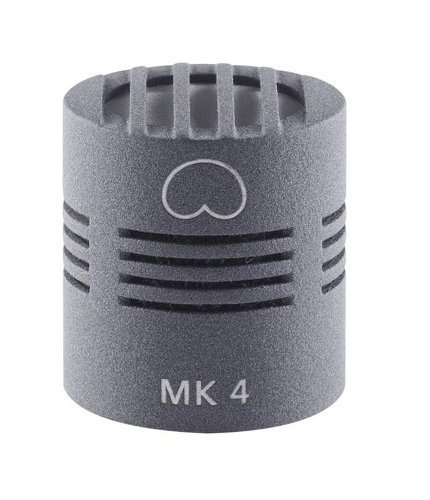 Schoeps MK 4 Cardioid Condenser Capsule with Nickel Finish for Colette Series Modular Microphone System MK-4NI