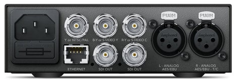 Blackmagic Design Teranex Mini - Analog to SDI 12G Analog Video to 12G-SDI Mini Converter CONVNTRM/BB/ANSDI