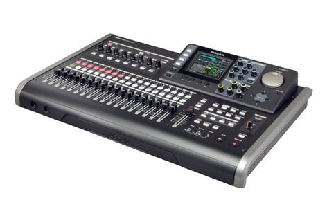 "Tascam DP-24SD Digital Portastudio 24-Track Recorder with (8) XLR-1/4"" Combo Inputs DP-24SD"