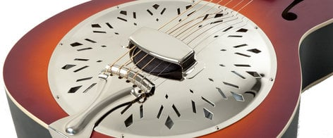 Recording King Dirty 30's Resonator Guitar with Tobacco Matte Sunburst Finish RPH-R1-TS