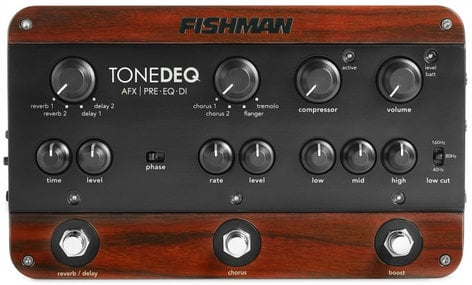 Fishman PRO-DEQ-AFX ToneDeq AFX Preamp / EQ / DI with Dual Effects PRO-DEQ-AFX
