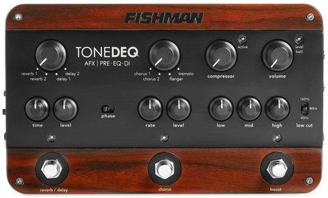 Fishman PRO-DEQ-AFX ToneDeq AFX Preamp / EQ / DI with Dual Effects PRO-DEQ-AFX