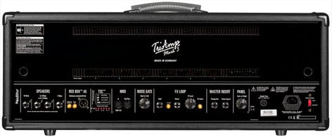 Hughes & Kettner TriAmp Mark 3 150W Guitar Tube Amplifier Head with Footswitch TRIAMP3H