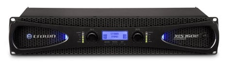 Crown XLS 1502 DriveCore™ 2 Series 2-Channel 525W (4 Ohms) Power Amplifier with Onboard DSP XLS1502
