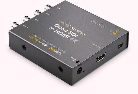 Blackmagic Design CONVMBSQUH4K2 Quad SDI to HDMI 4K 2 Mini Converter CONVMBSQUH4K2