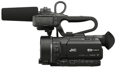 JVC GY-LS300CHU 4KCAM Handheld Super 35 Camcorder - Body Only GYLS300CHU