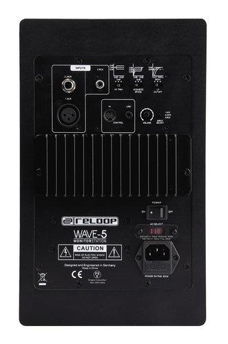 "Reloop Wave 5 Pair of 5"" Powered DJ Reference Monitors WAVE-5"
