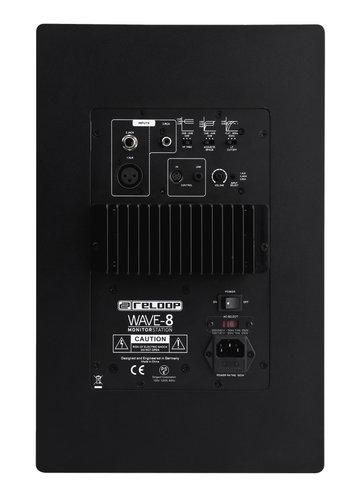 "Reloop Wave 8 Pair of 8"" Powered DJ Reference Monitors WAVE-8"
