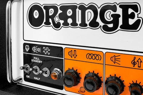 Orange Amplification Rockerverb 50 MKIII Head 50W 2 Channel Guitar Tube Amplifier Head with 2x EL34 Valves RK50HTC-MKIII