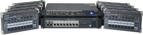 Roland System Group M48-PM8 8-Person MADI-Based Networked Personal Monitor Mixing System M48-PM8